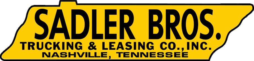 Sadler Bros Logo, a Nashville Trucking company, Jacksonville Trucking Company, and Memphis Trucking Company